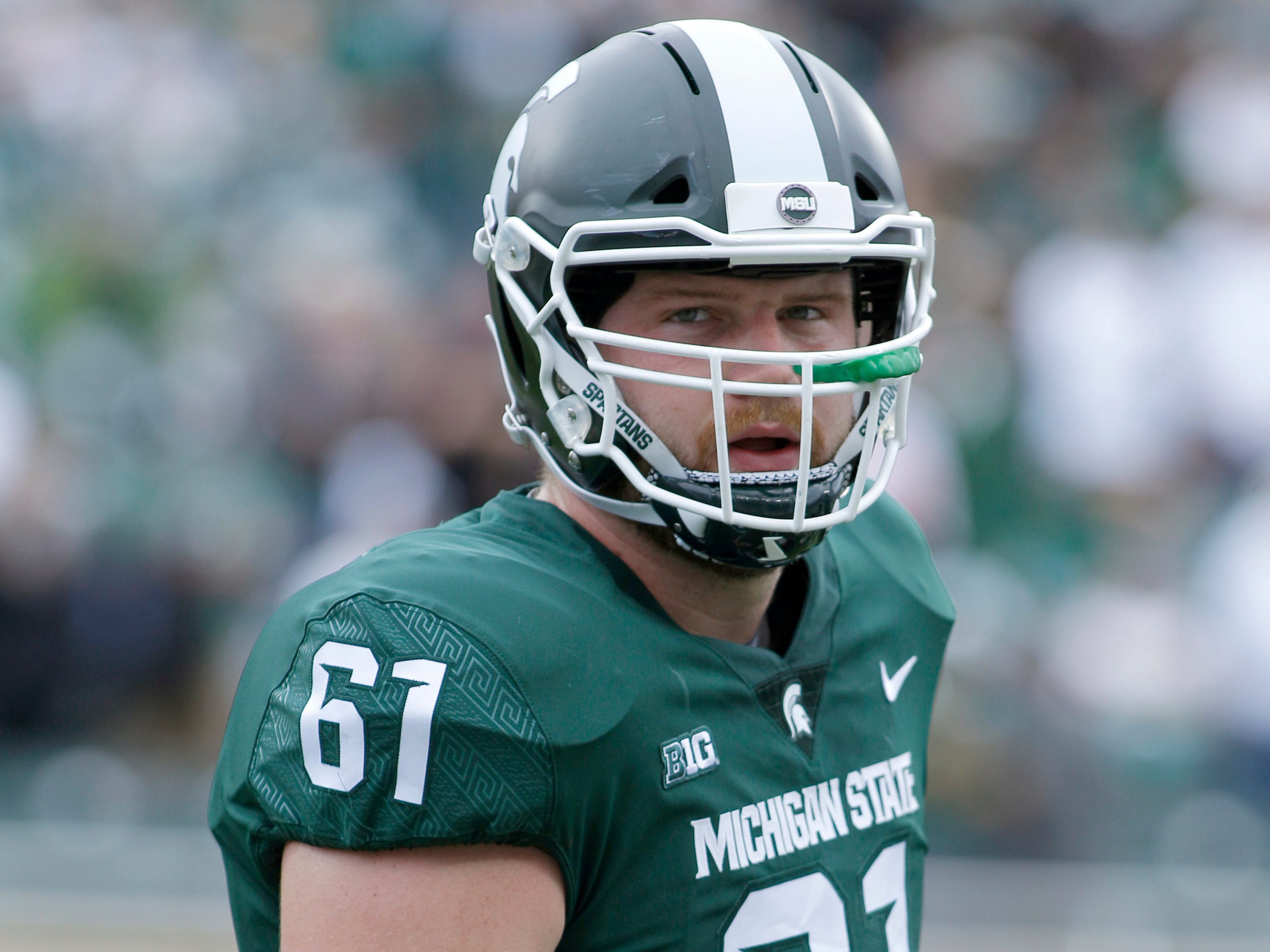 LEFT TACKLE: Cole Chewins – His junior season was hampered by an injury that limited Chewins to 74 snaps in the first five games. He started the final seven games, but will no doubt be pushed this spring by a handful of young players.