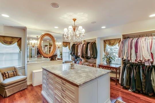 The master closet.