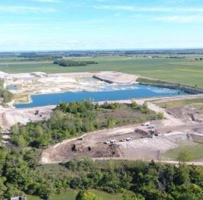 Judge bars spent lime disposal at Benton Township quarry