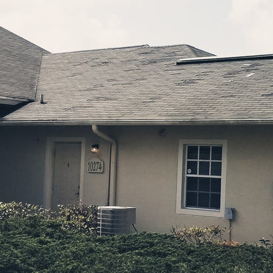 Need for updated maintenance, including roof repair, is among the things that need repair at Vista Palms apartments in Lehigh Acres