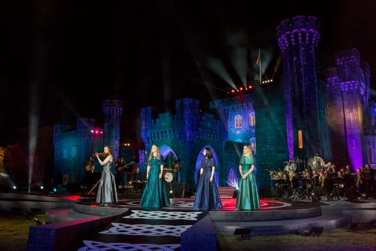 "Celtic Woman performing in their PBS special ""Ancient Land"""