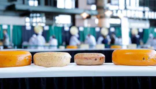 The U.S. Championship Cheese Contest is being held March 5-6 at Lambeau Field in Green Bay, Wis.