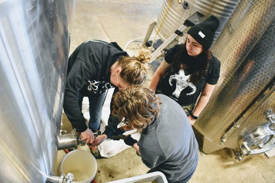 The Sonita beer at Birds Fly South is a unique expression of female brewers, producers and community activists.
