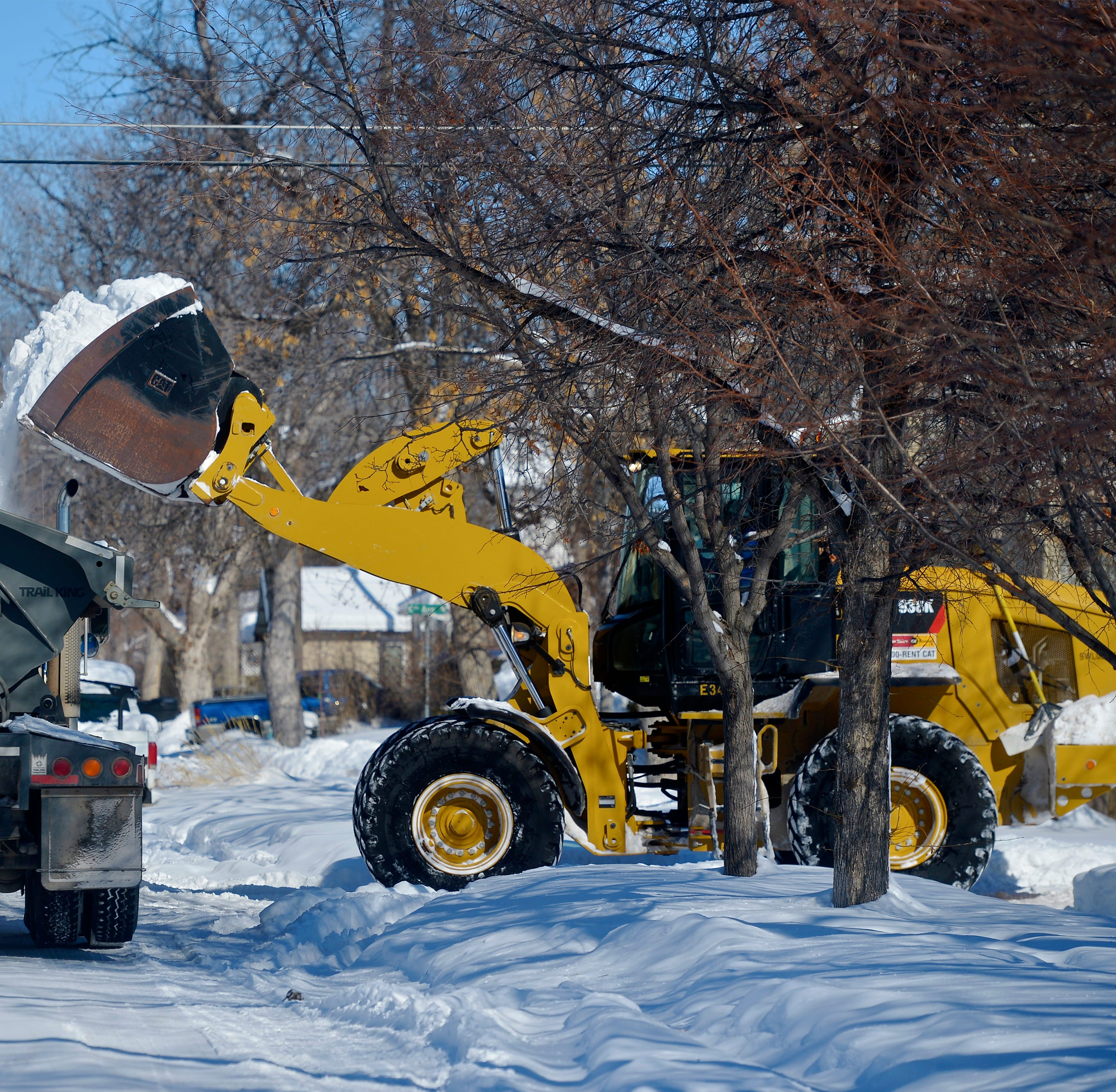 Great Falls residents deal with no running water as thaw pushes frost level deeper