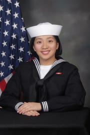 "Seaman recruit Genesis Gomez, an Okkodo High School graduate and Dededo native, graduated as top Sailor from Recruit Training Command, Division 917, earning the Military Excellence Award on March 1. Gomez said winning the MEA reinforces her self-confidence. ""Winning this award made me realize that we are all capable of doing something great, whether we are of different backgrounds, ethnicities or genders. ""It also taught me that I can conquer anything that comes my way with the best of my ability,"" said Gomez."