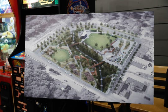 An illustration of the project shows what it would look like.