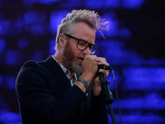 Matt Berninger will perform with the National June 26 at the Farm Bureau Insurance Lawn at White River State Park.