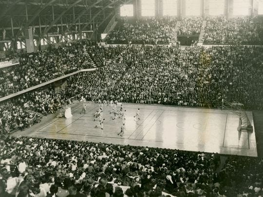 """Orville Bose said the atmosphere playing inside then Butler Fieldhouse was """"thrilling."""""""