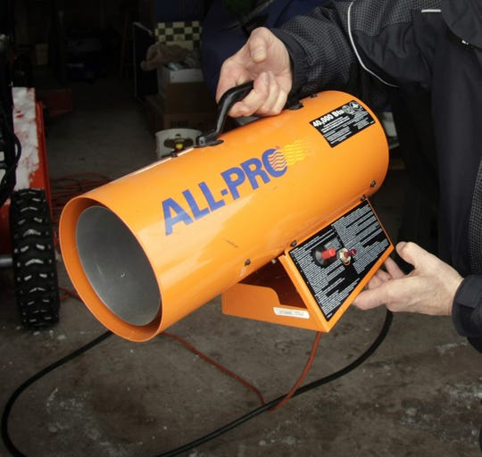 A propane heater is shown in this file photo.
