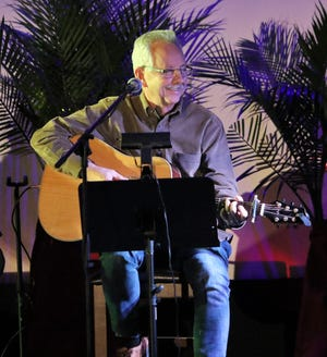 Buddy Cannon smiled at the crowd as he played and sang one of his hits on the stage of the Princess Theatre during the Tennessee Music Pathways Songwriters event on Saturday, March 2, 2019 in Lexington.