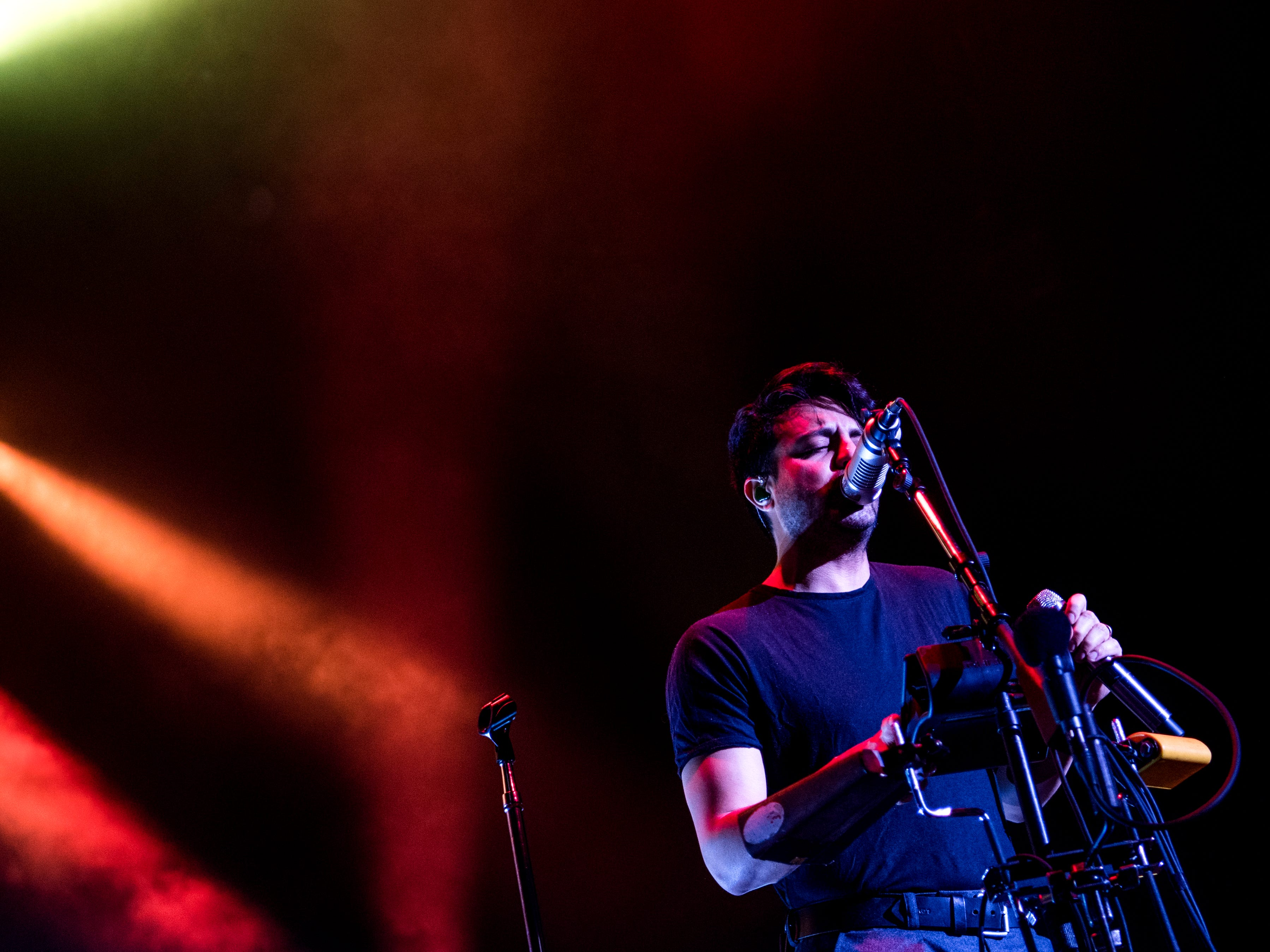 Young the Giant performs at the Tennessee Theatre in downtown Knoxville on February 6, 2019.