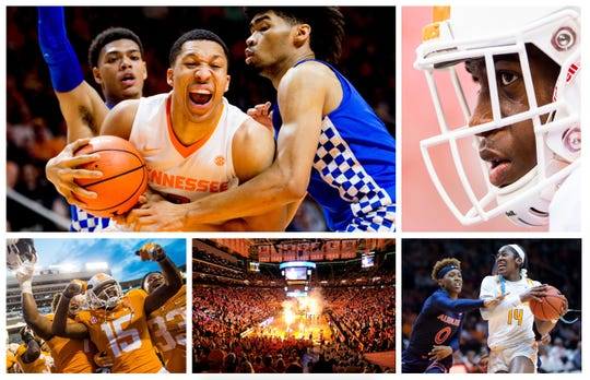 Vols sports collage