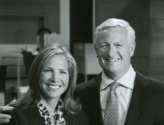 Jimmy and Dee Haslam have donated $10 million to the University of Tennessee, Knoxville, to benefit two prominent university programs, fund endowed professorships and create a prestigious honors scholarship.  Jimmy Haslam is president and chief executive officer of Pilot Travel Centers. Dee Haslam is CEO of RIVR Media and also chairs the UT Development Council. The Haslams are chairs of the Campaign for Tennessee for the Knoxville Campus.