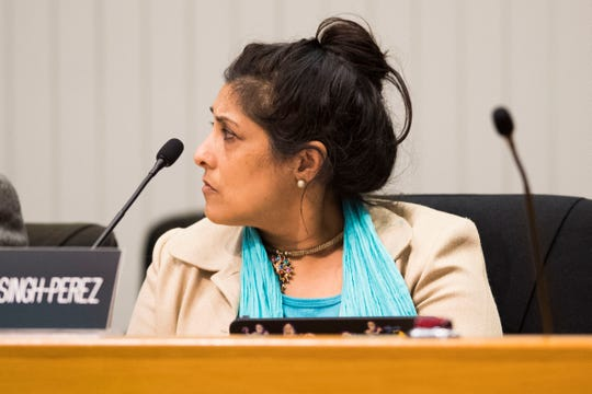 Councilwoman Seema Singh, Third District, brought up the police misconduct investigation during a discussion Tuesday night about whether to ask the Knoxville Police Department to conduct tests on body cameras for officers.