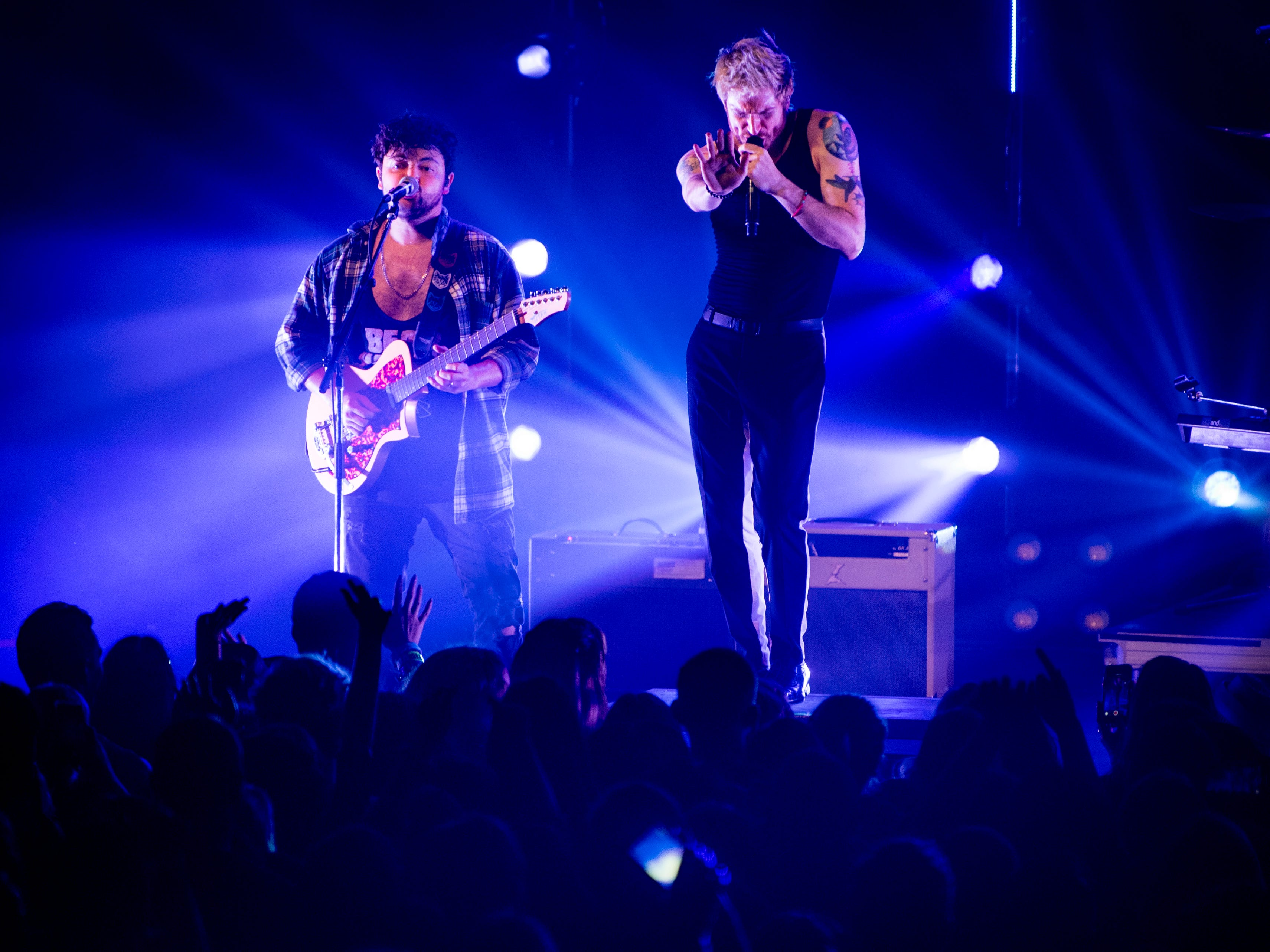 Walk the Moon performs at The Mill & Mine in Knoxville on February 17, 2019.