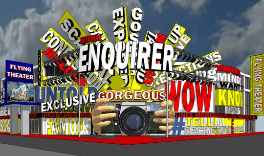 National Enquirer Live will open in Pigeon Forge in May.