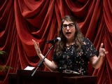 Before her lecture at the University of Tennessee, Mayim Bialik spoke on being an actress and scientist.