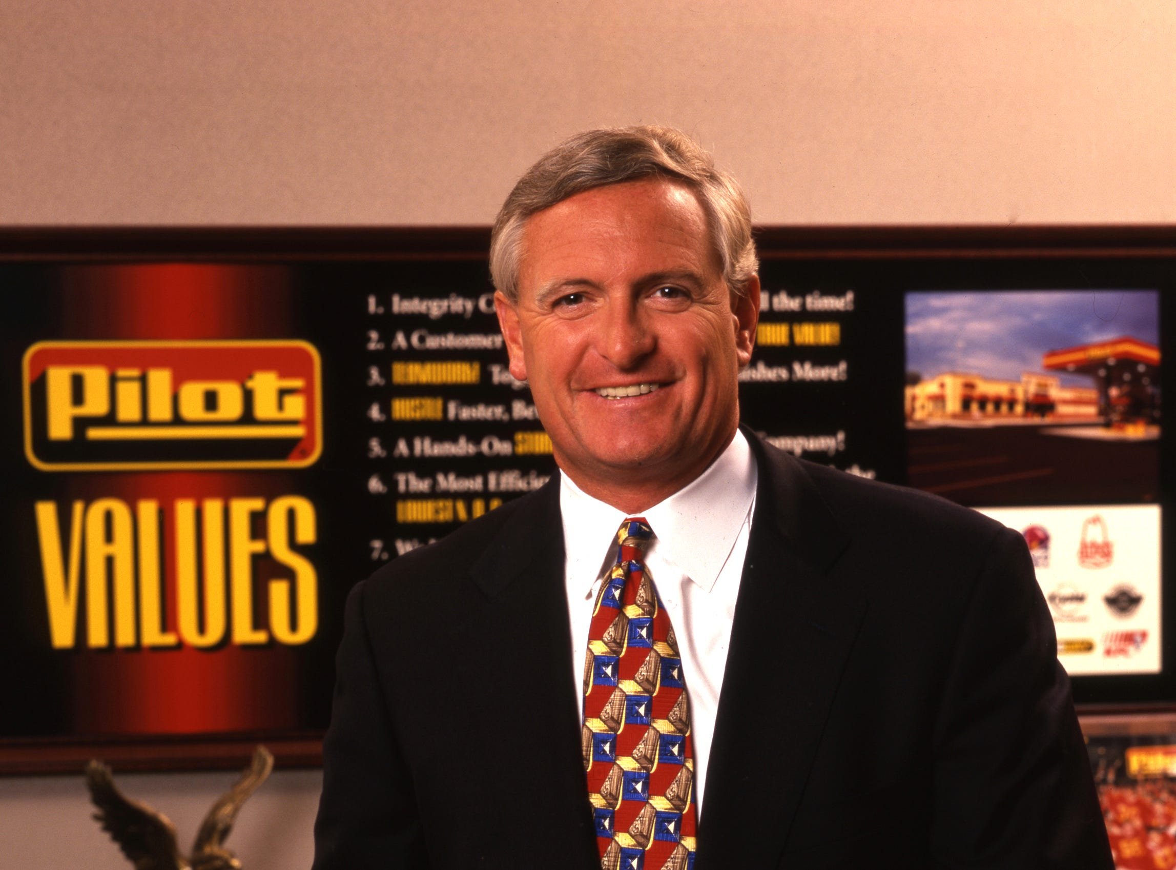 Jimmy Haslam, an inductee of the 2007 Business Hall of Fame, will be inducted into the 19th Junior Achievement of East Tennessee Business Hall of Fame on March 27, 2007 at the Knoxville Convention Center.