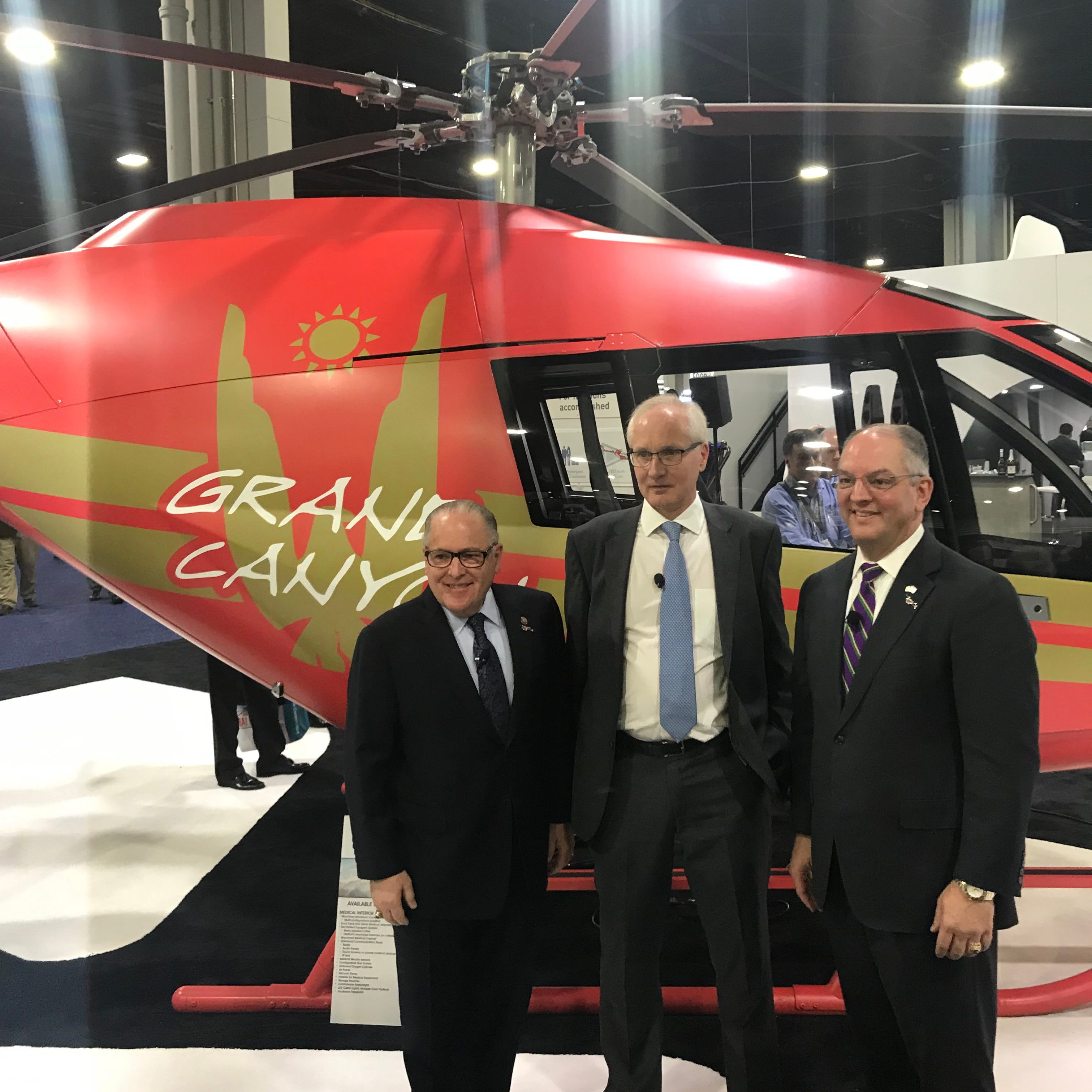 Lafayette lands helicopter company, 120 jobs