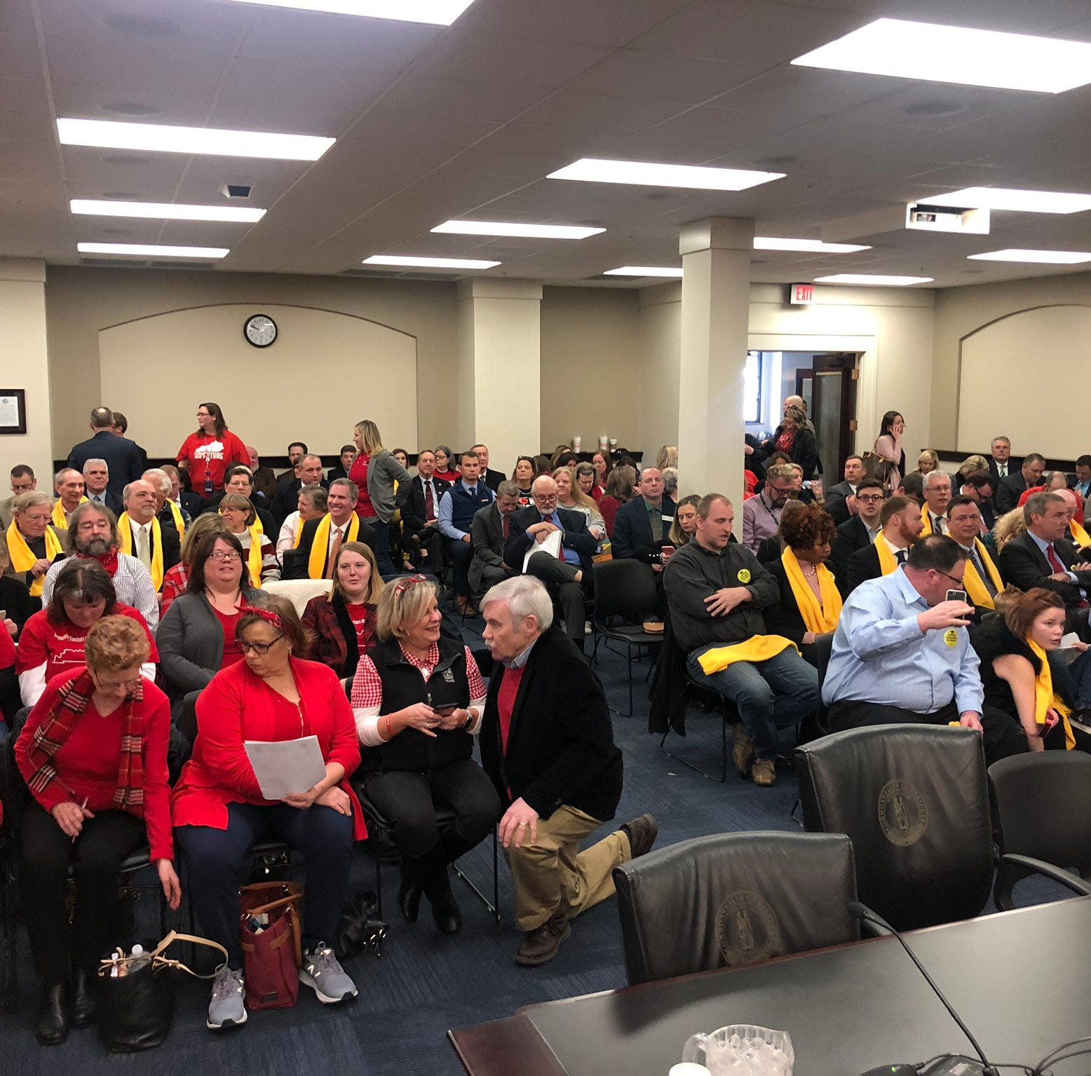JCPS teachers sickout: What to know about the private school tax bill
