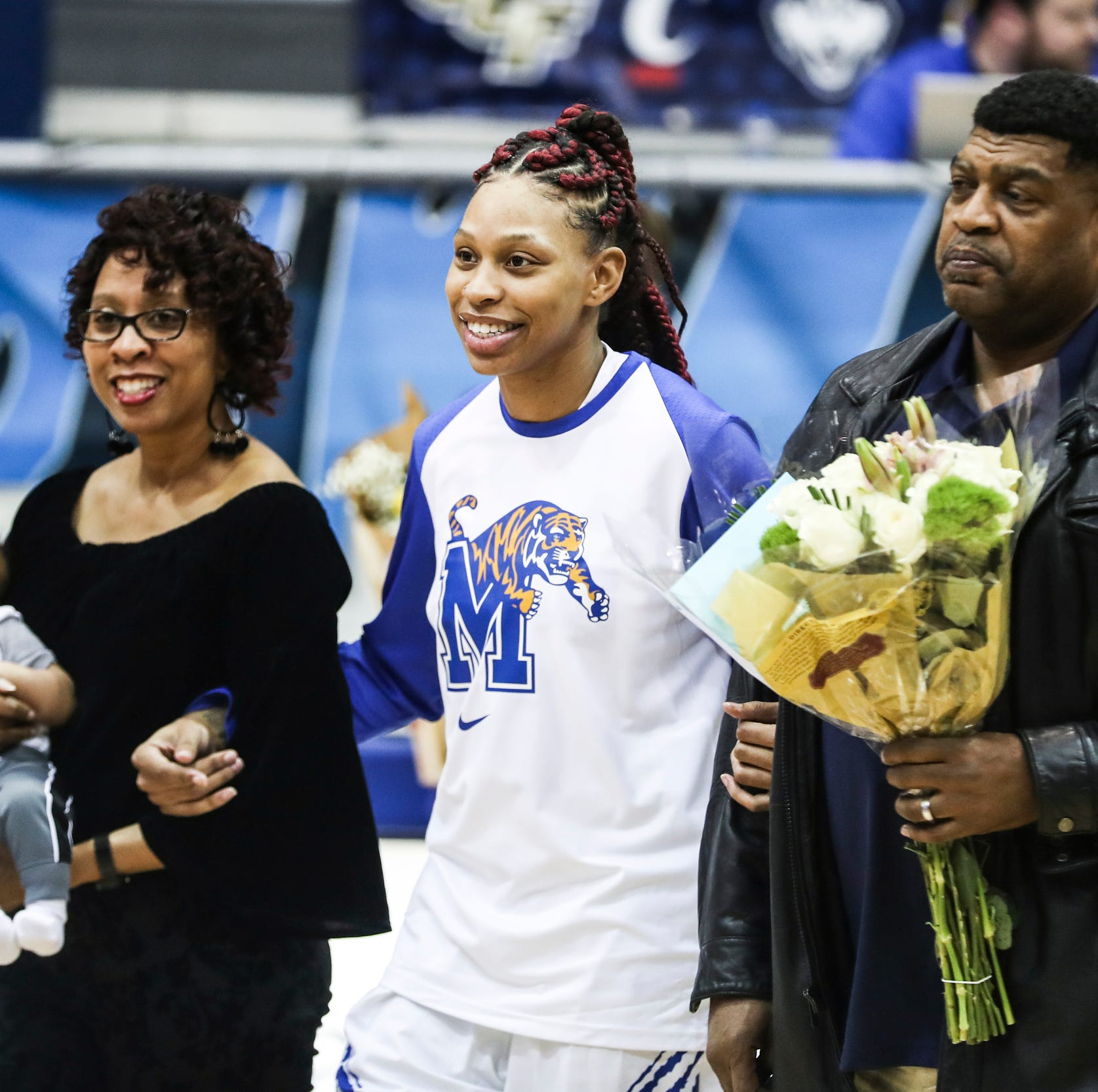 After murder, heartbreak and an unplanned pregnancy, Ashia Jones finally played for Memphis basketball