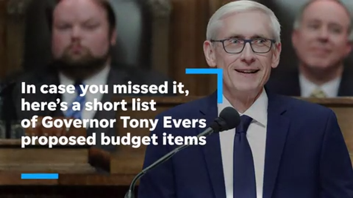 Highlights from Gov. Tony Evers' budget