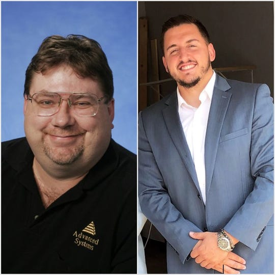 Cudahy's District 3 candidates incumbent Randy Hollenbeck (left) and challengerArnold Naqellari.