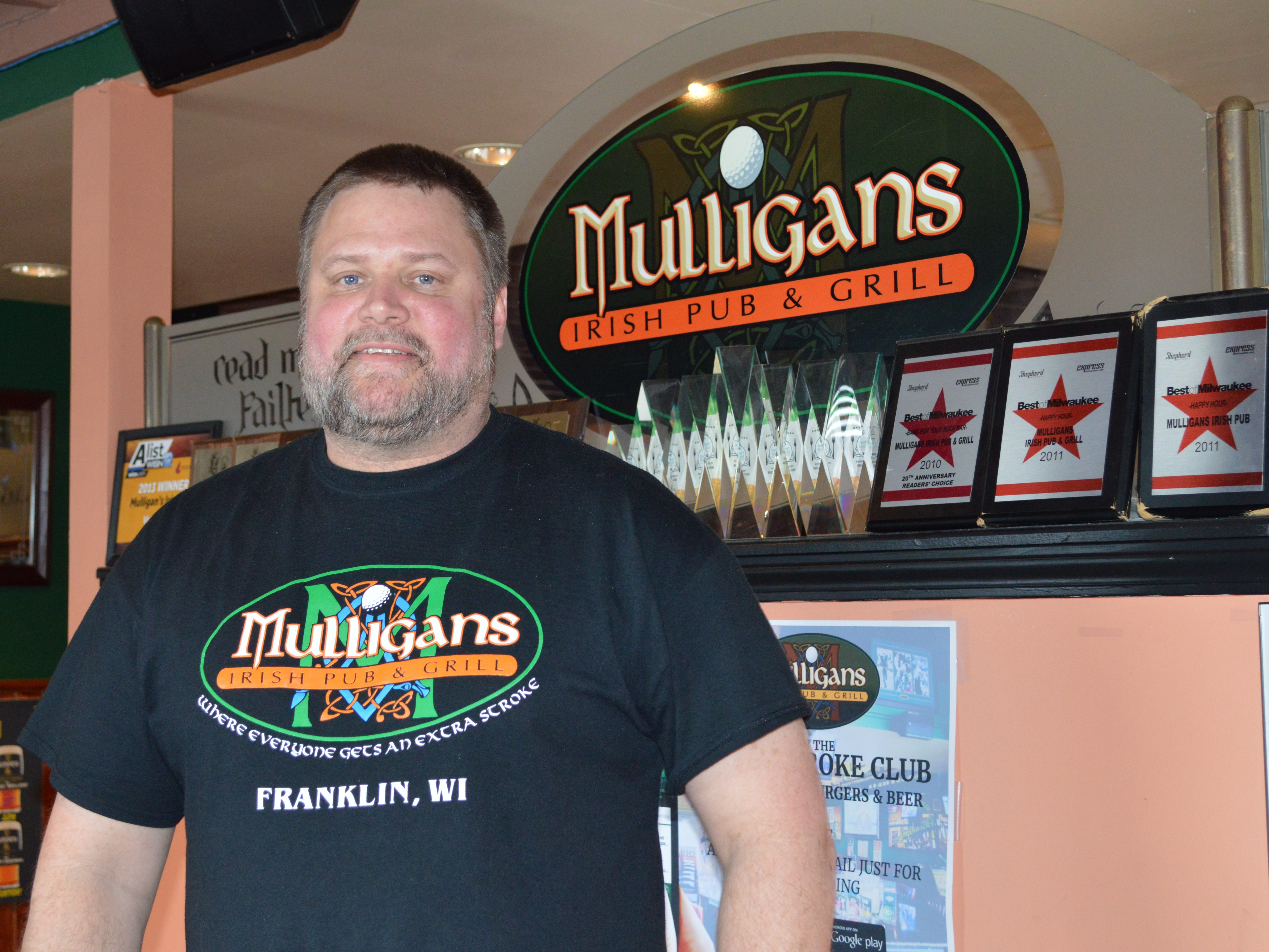 Brian Francis opened Mulligans Irish Pub and Grill in July 2009.