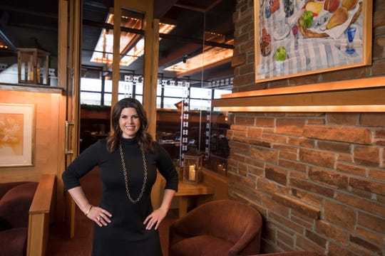 Amy Wimmer, the third-generation owner of the Del-Bar, stands in the supper club's lobby in the Wisconsin Dells.