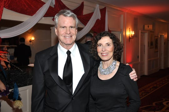 F. William Haberman and his wife, Carmen, stop for a photo during the 2012 Ballet Ball.
