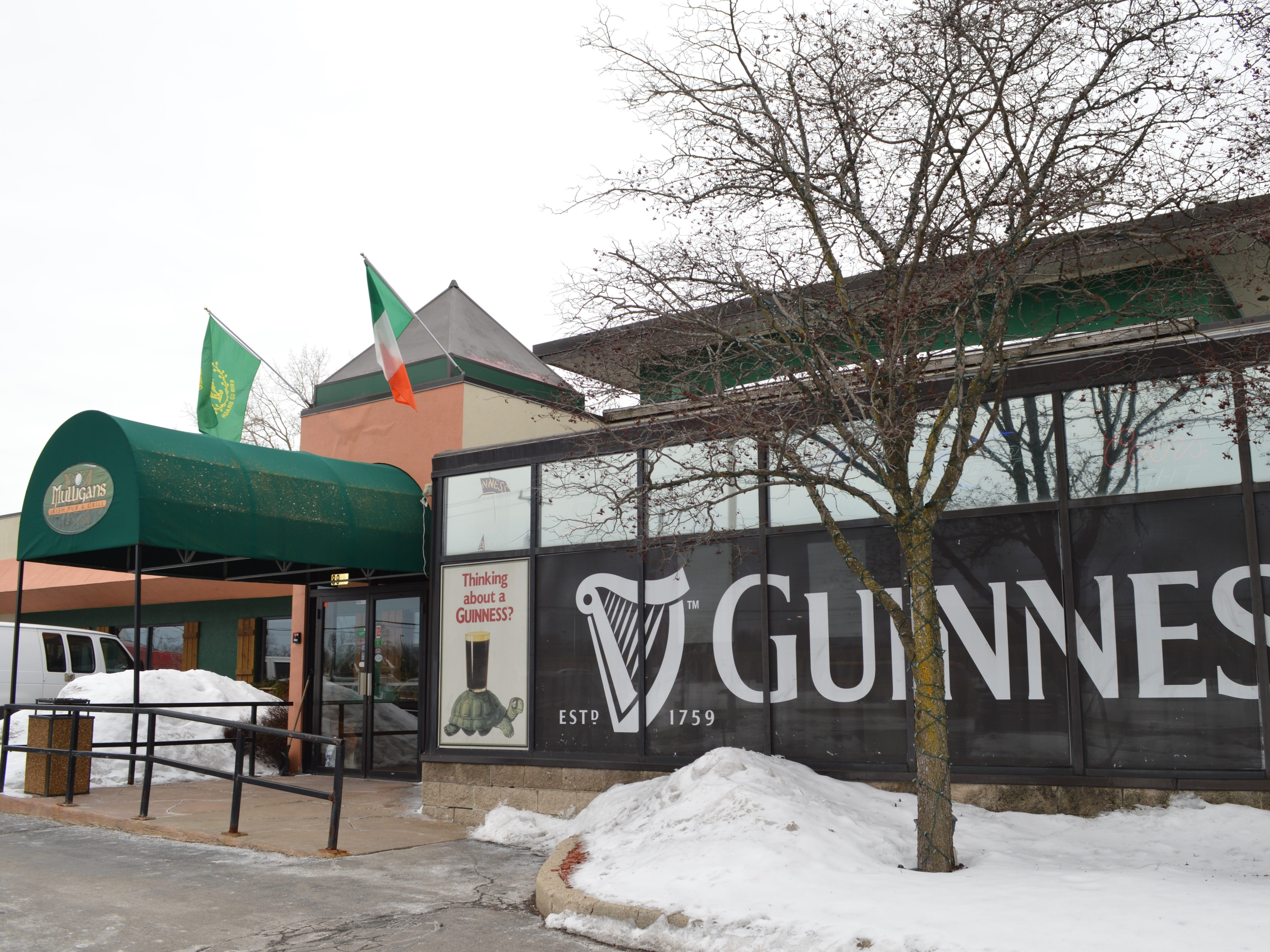 Mulligans Irish Pub and Grill is located at  8933 S. 27th St., Franklin.