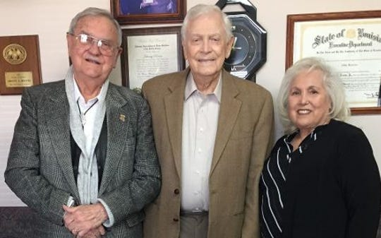 Dr. Rush Greer, Johnny Reeves, Tana Trichel