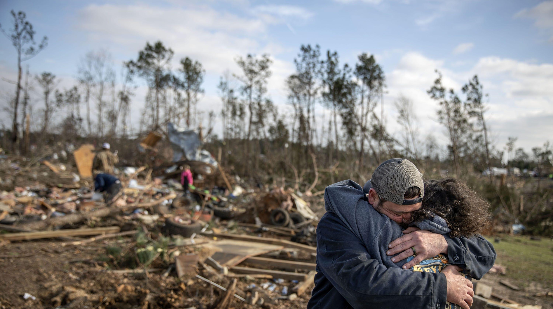 Coroner releases names of Beauregard, Alabama, tornado victims