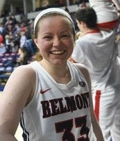Belmont's Darby Maggard was named the OVC player of the year Tuesday.