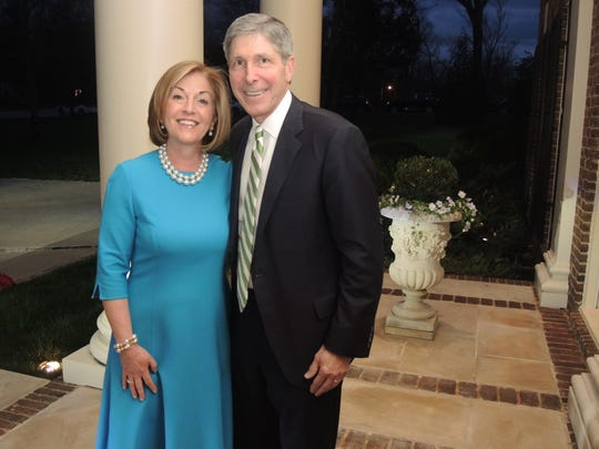 Kathy and Bobby Rolfe hosted the Swan Ball 2019 Unveiling at their Belle Meade home.