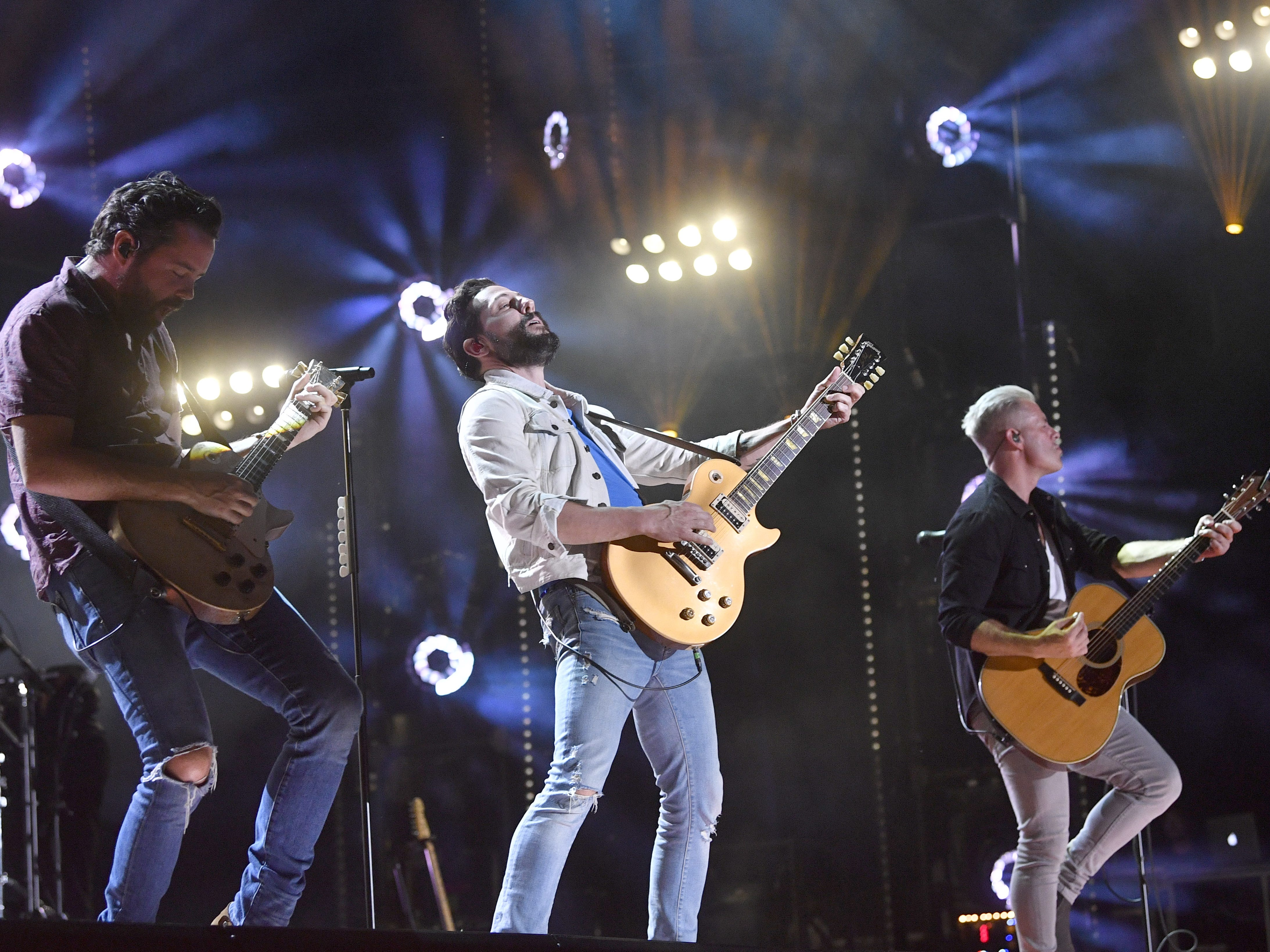 Old Dominion is scheduled to play Nissan Stadium during CMA Fest 2019.