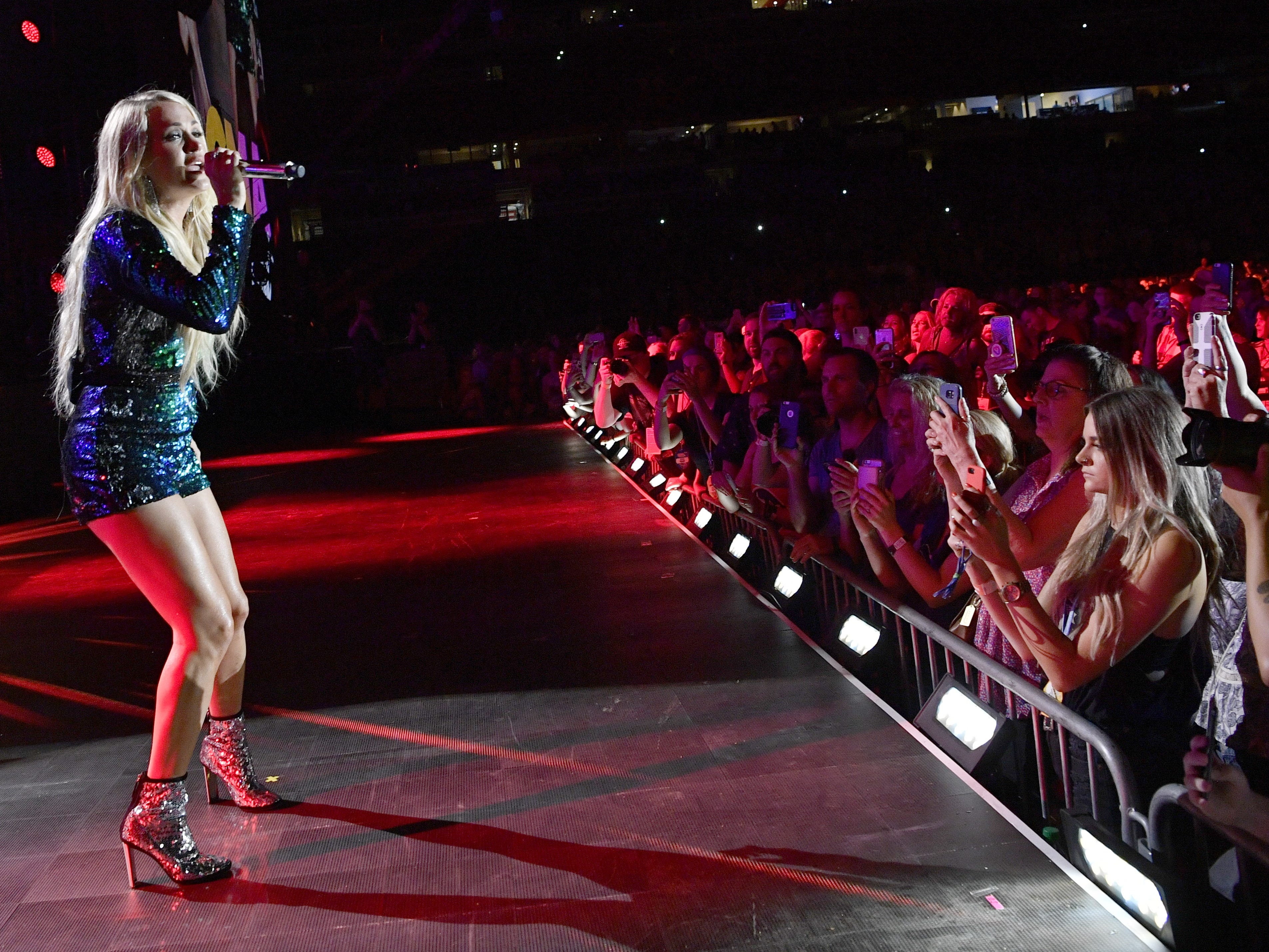 Carrie Underwood is scheduled to play Nissan Stadium during CMA Fest 2019.