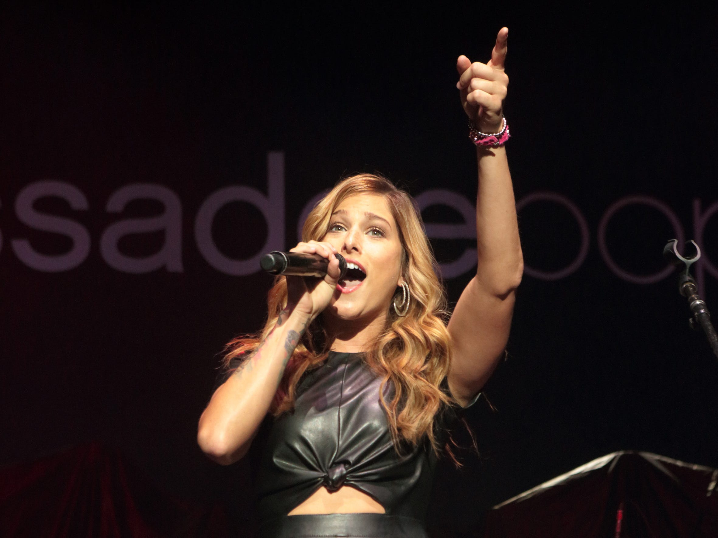 Cassadee Pope is scheduled to play the Chevy Riverfront Stage at CMA Fest 2019.