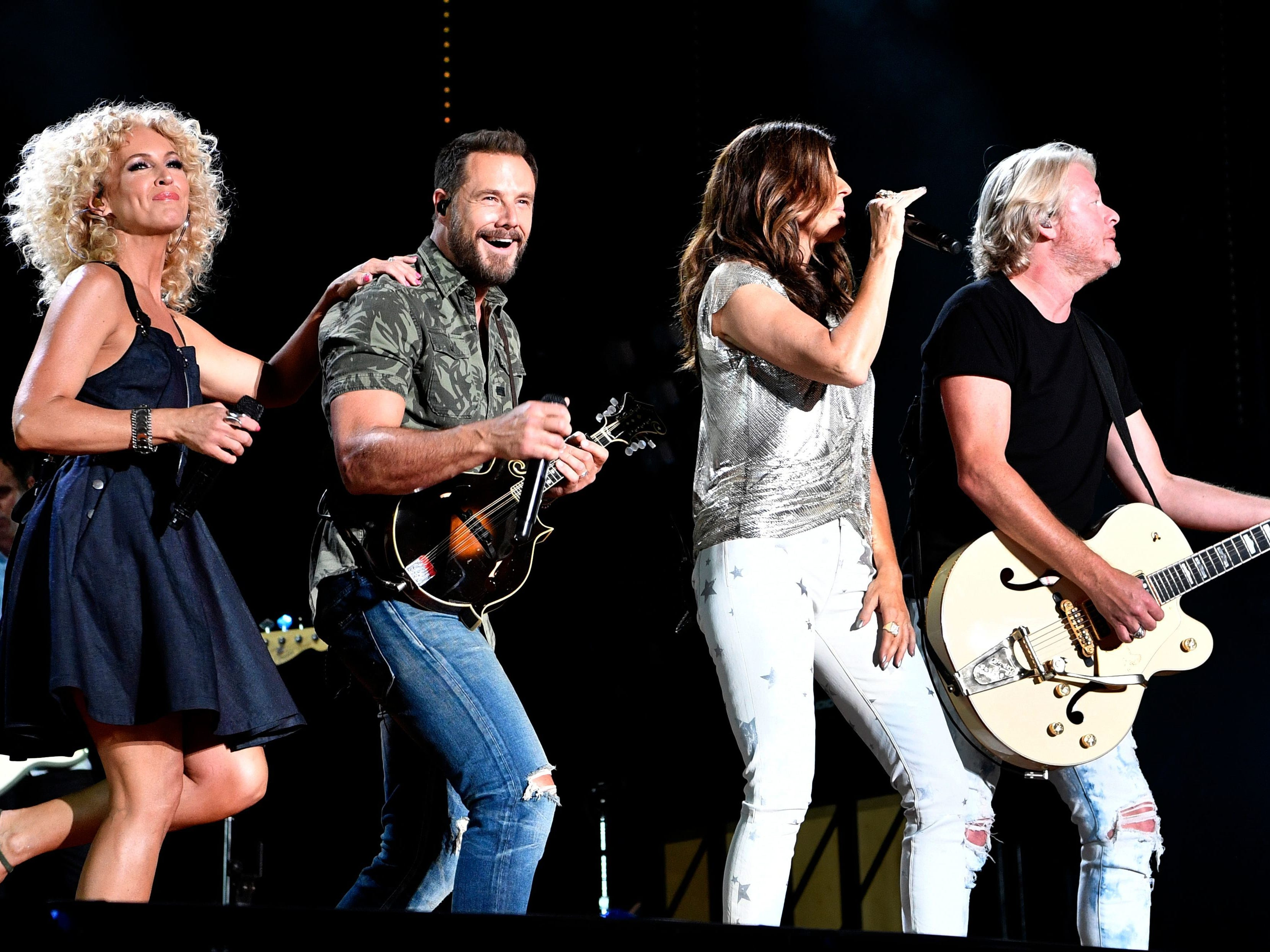 Little Big Town is scheduled to play Nissan Stadium during CMA Fest 2019.