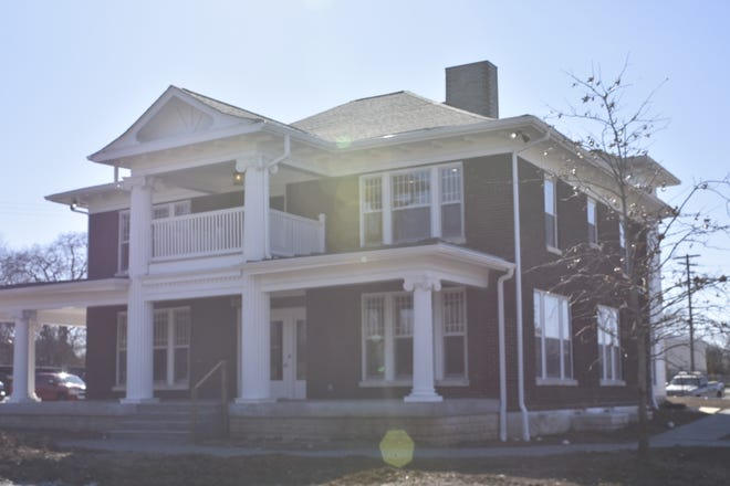 The century-old Walter Franklin House relocated about 2,000 feet away in Gallatin, now serving as office space for the city's engineering department on Long Hollow Pike.
