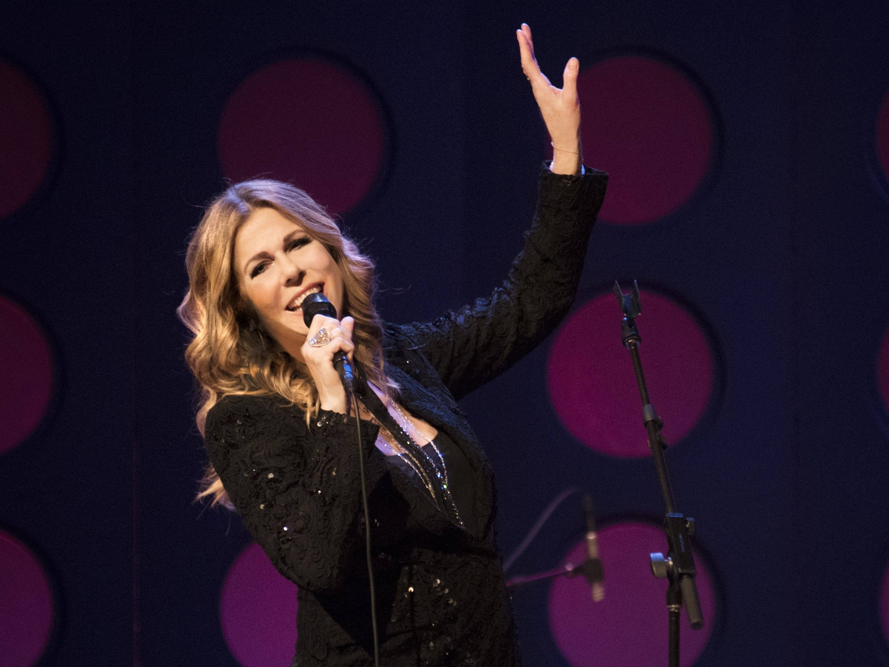 Rita Wilson is scheduled to play the Budweiser Forever Country Stage at CMA Fest 2019.