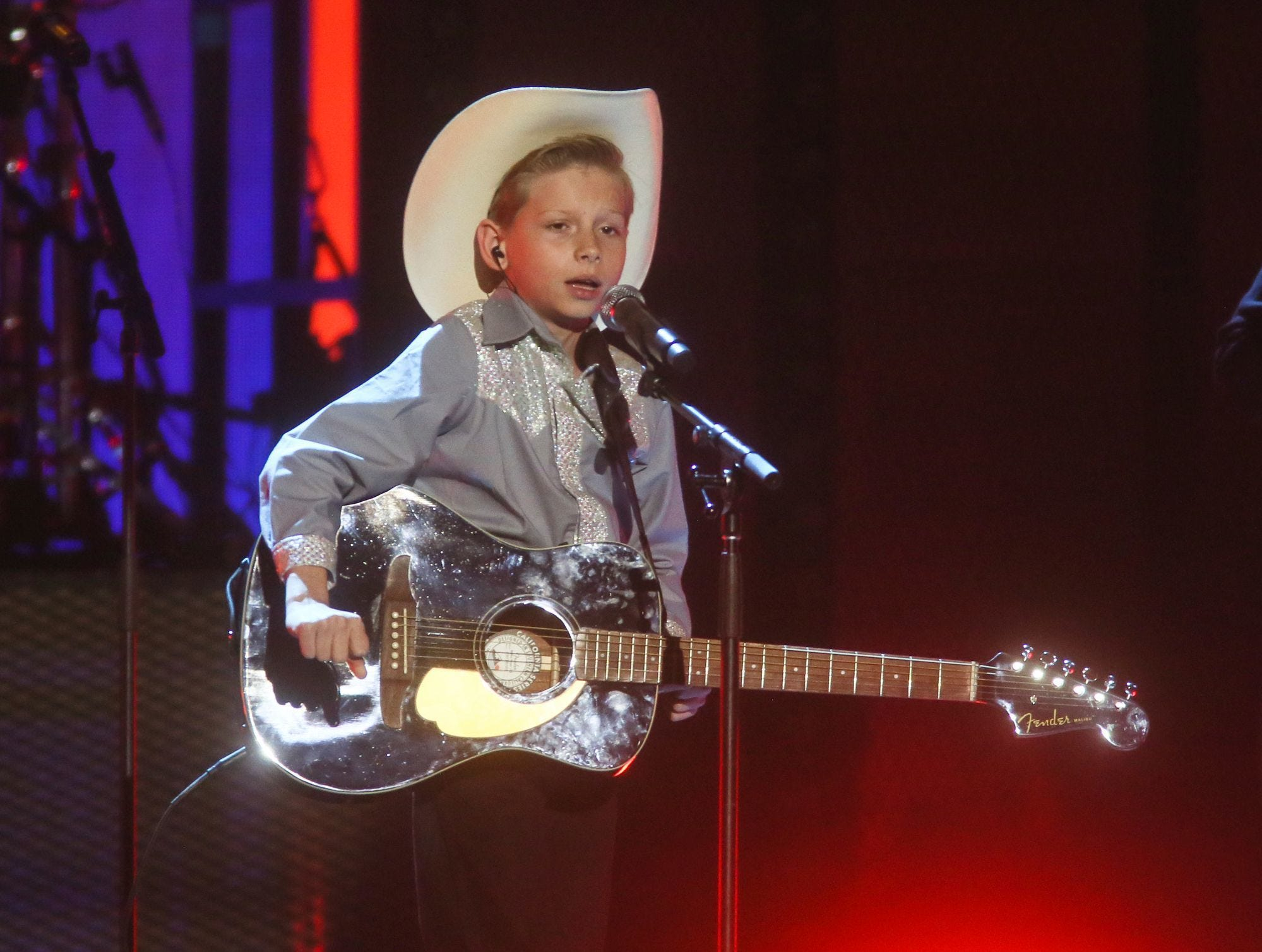 Mason Ramsey is scheduled to play the Chevy Riverfront Stage at CMA Fest 2019.