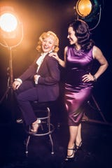 """Maggie Richardson, left, and Laura Matula are among those performing in Studio Tenn's """"The Sinatra Legacy."""""""