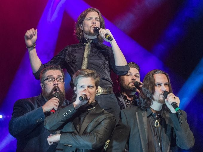 Home Free is scheduled to play the Chevy Riverfront Stage at CMA Fest 2019.