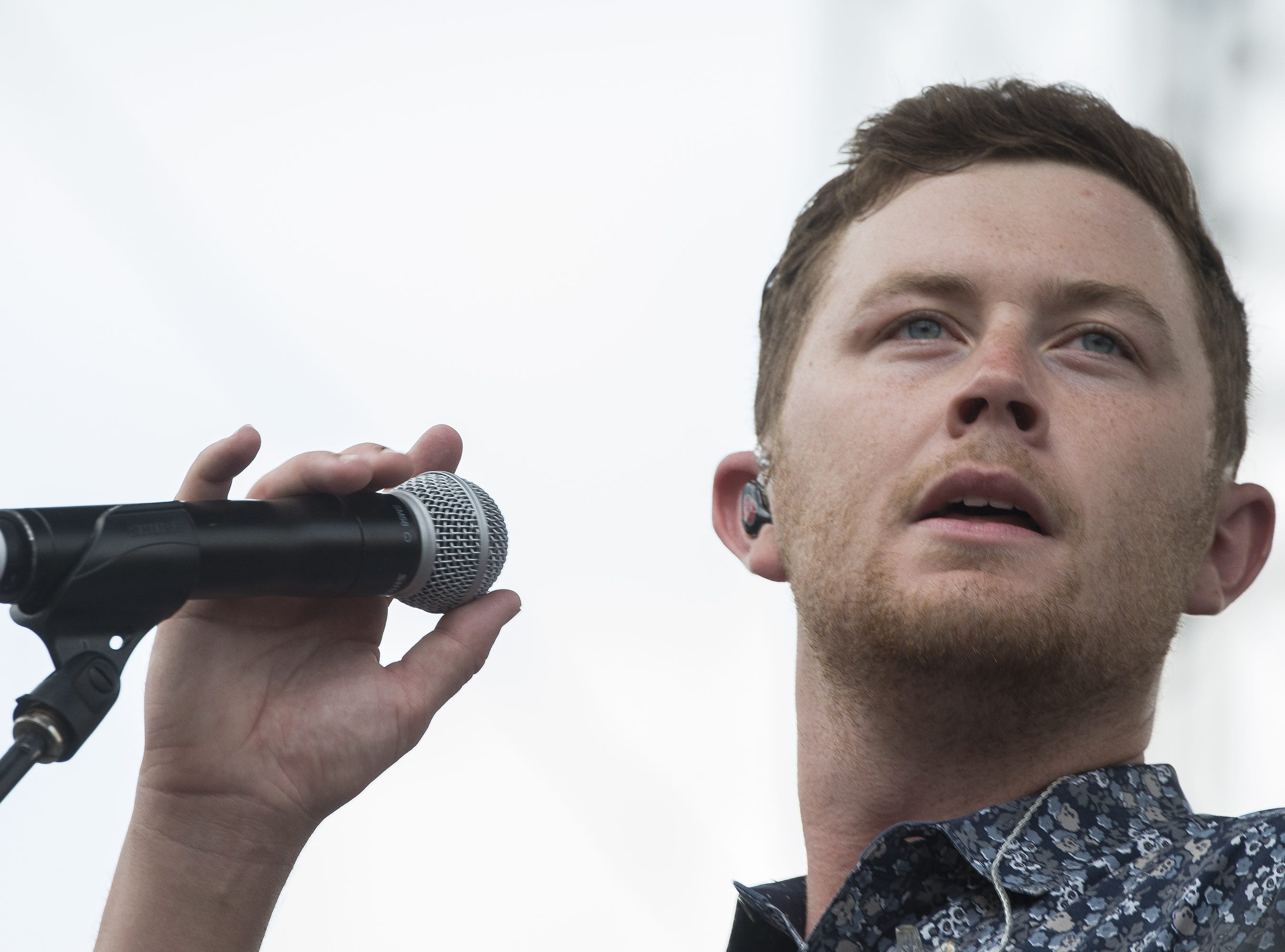 Scotty McCreery is scheduled to play the Chevy Riverfront Stage at CMA Fest 2019.