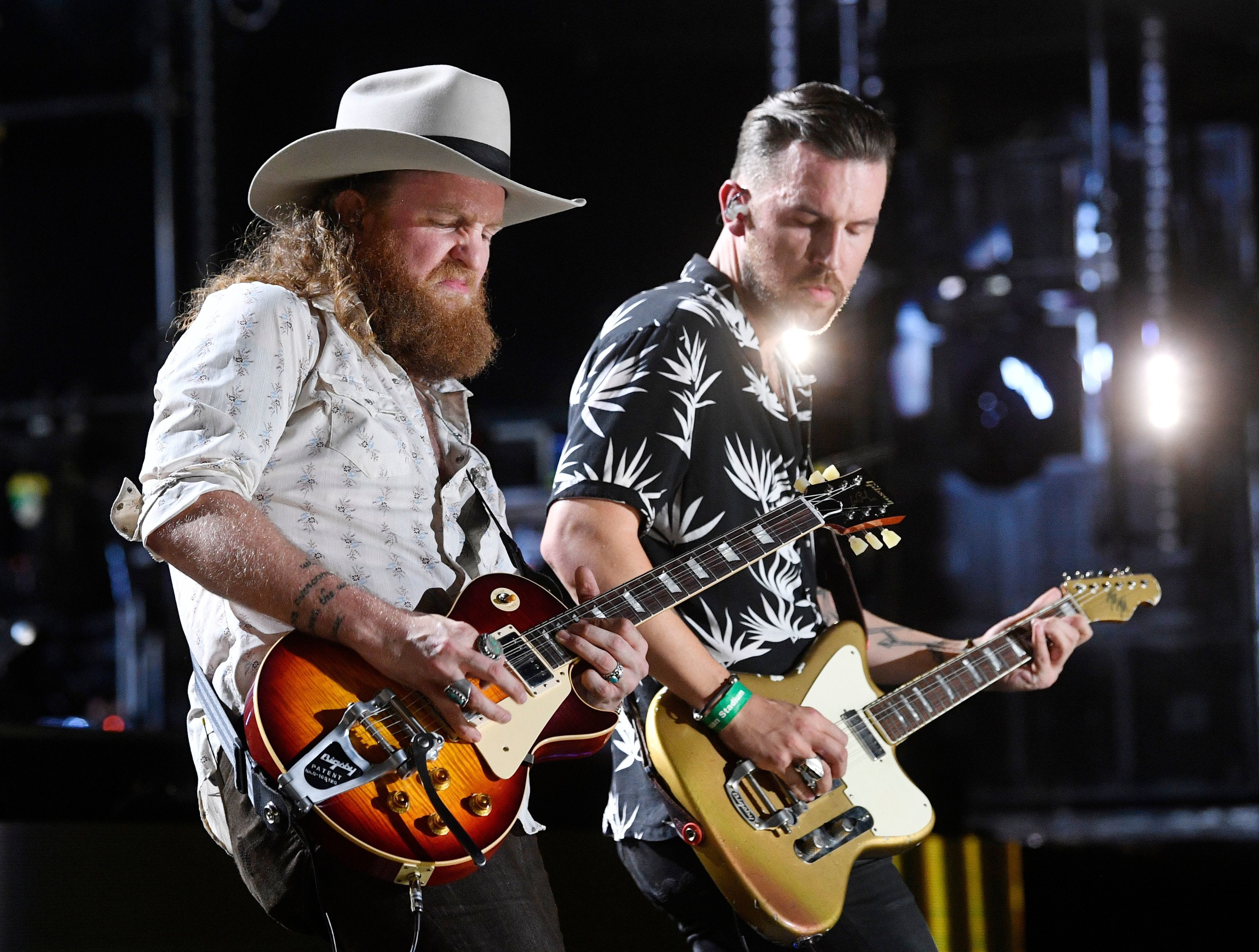 The Brothers Osborne are scheduled to play Nissan Stadium during CMA Fest 2019.