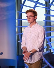 Belmont University student Walker Burroughs sailed through his 'American Idol' audition.