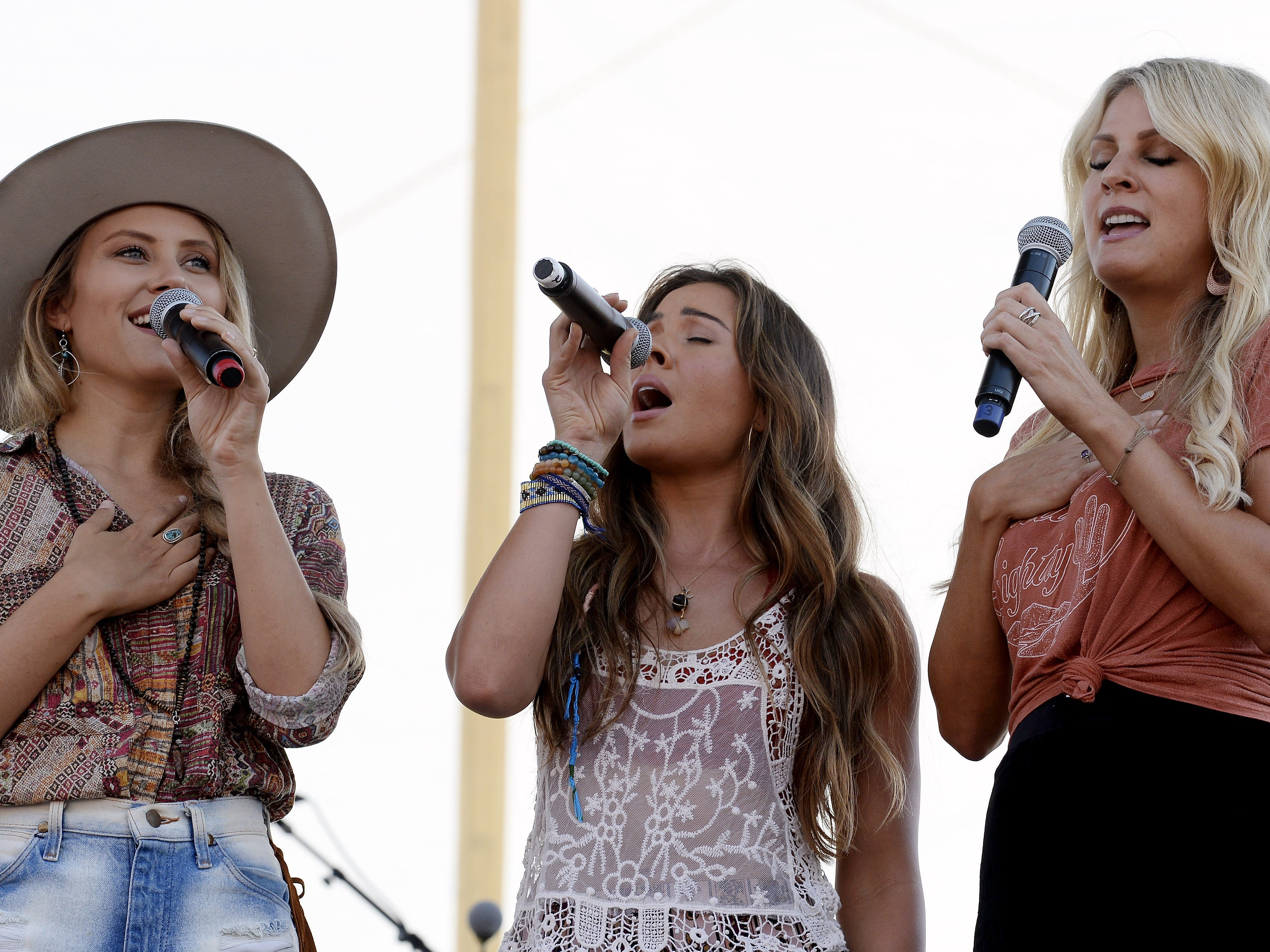 Runaway June is scheduled to play the Chevy Riverfront Stage at CMA Fest 2019.