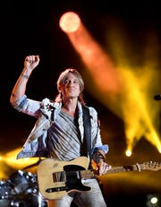Keith Urban is scheduled to play Nissan Stadium during CMA Fest 2019.