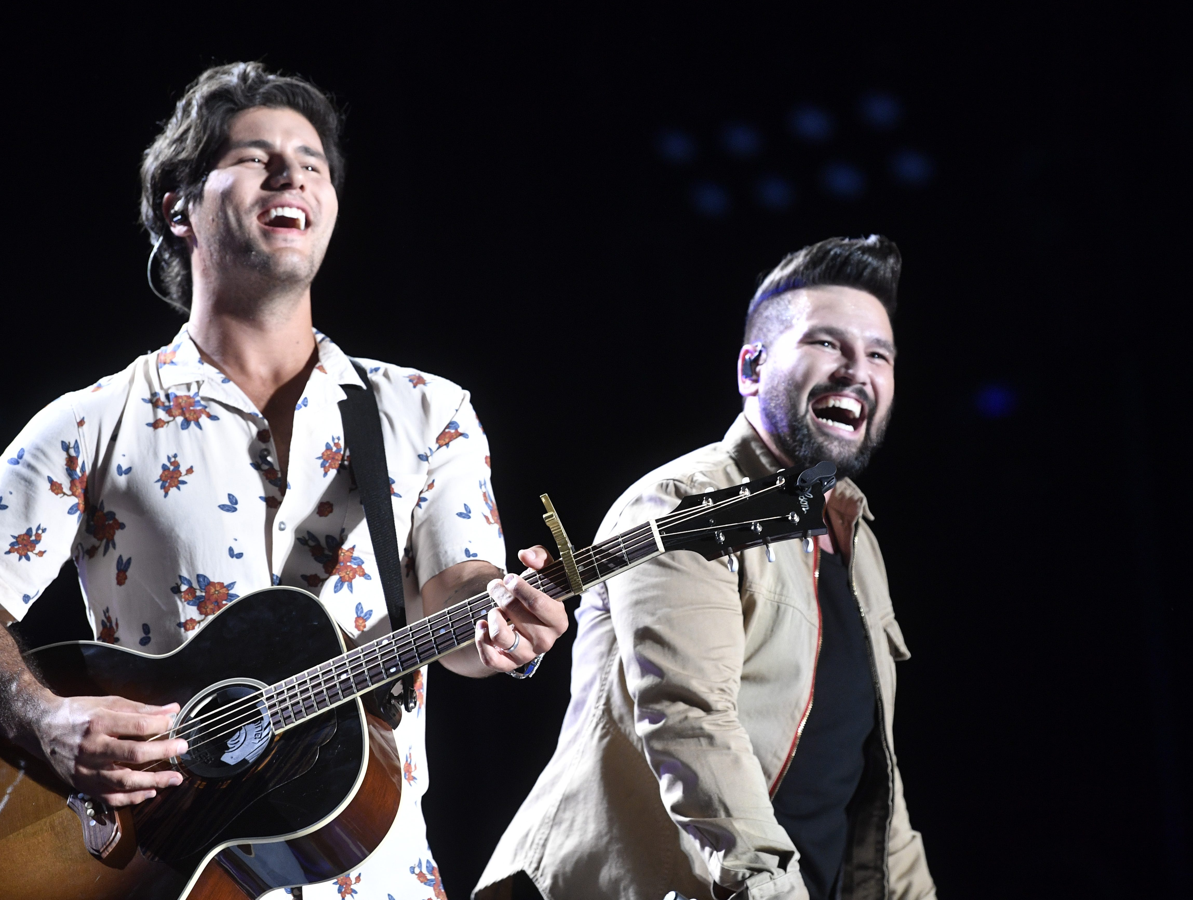 Dan + Shay are scheduled to play Nissan Stadium during CMA Fest 2019.